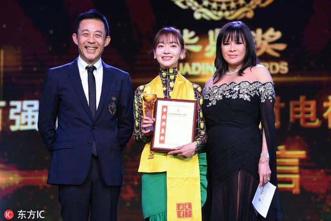 Hoa Đỉnh 2018: Ngô Cẩn Ngôn giật giải Nữ diễn viên truyền hình xuất sắc mảng cổ trang - ảnh 1