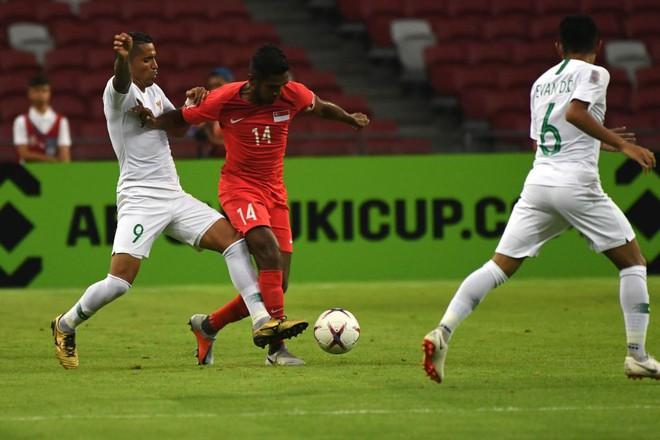 Cập nhật: Singapore khiến Indonesia nhận thất bại tâm phục khẩu phục ở bảng B AFF Cup 2018 - ảnh 1