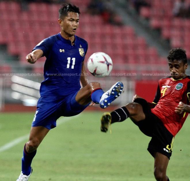 Thái Lan nã 7 bàn vào lưới Timor Leste ở trận ra quân AFF Cup 2018 - ảnh 1