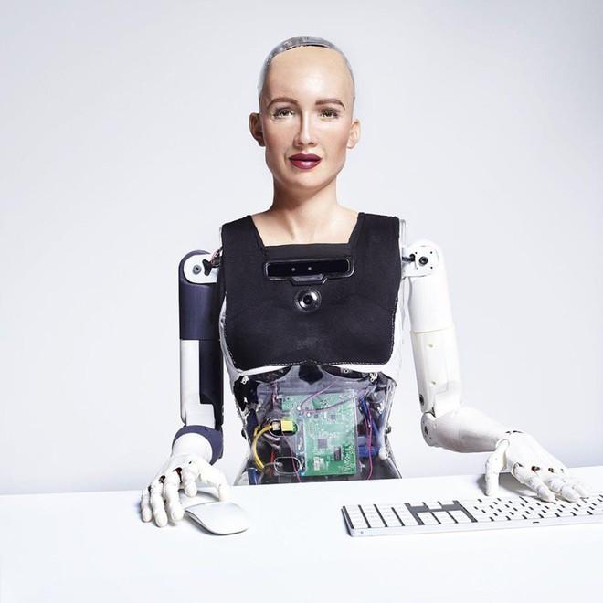 Cô nàng robot Sophia chuẩn bị có em gái mới, trông đáng yêu và xịn xò hơn hẳn - Ảnh 2.