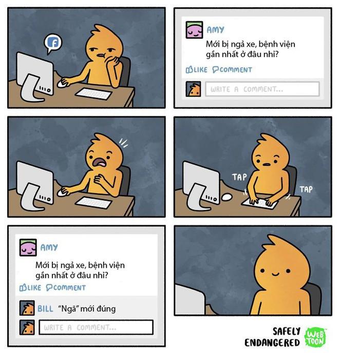 Bộ tranh đúng đến phũ phàng về cuộc sống của bao người trên mạng Internet - Ảnh 10.