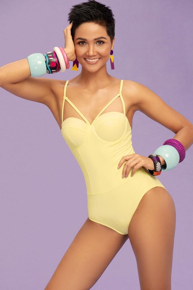 H'Hen Niê bikini: Bộ ảnh H'Hen Niê Miss Universe nóng bỏng - Ảnh 9.