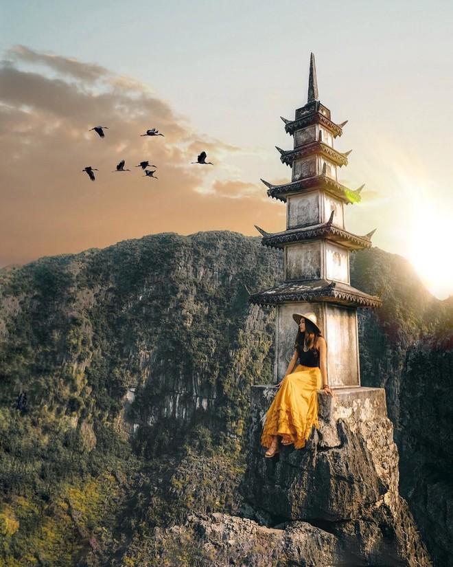 Tọa độ check-in hot nhất ở Ninh Bình: Hùng vĩ và ảo diệu không thua gì cảnh phim cổ trang - ảnh 10