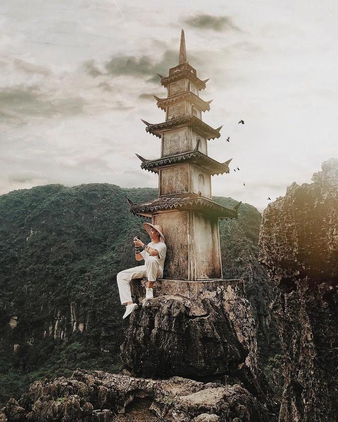 Tọa độ check-in hot nhất ở Ninh Bình: Hùng vĩ và ảo diệu không thua gì cảnh phim cổ trang - ảnh 9