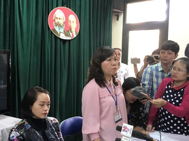 Vụ tát học sinh 50 cái: Họp báo từ trường Tiểu học Quang Trung Đống Đa - Ảnh 1.