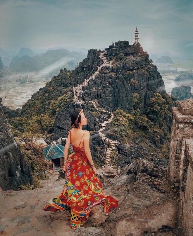 Tọa độ check-in hot nhất ở Ninh Bình: Hùng vĩ và ảo diệu không thua gì cảnh phim cổ trang - ảnh 4