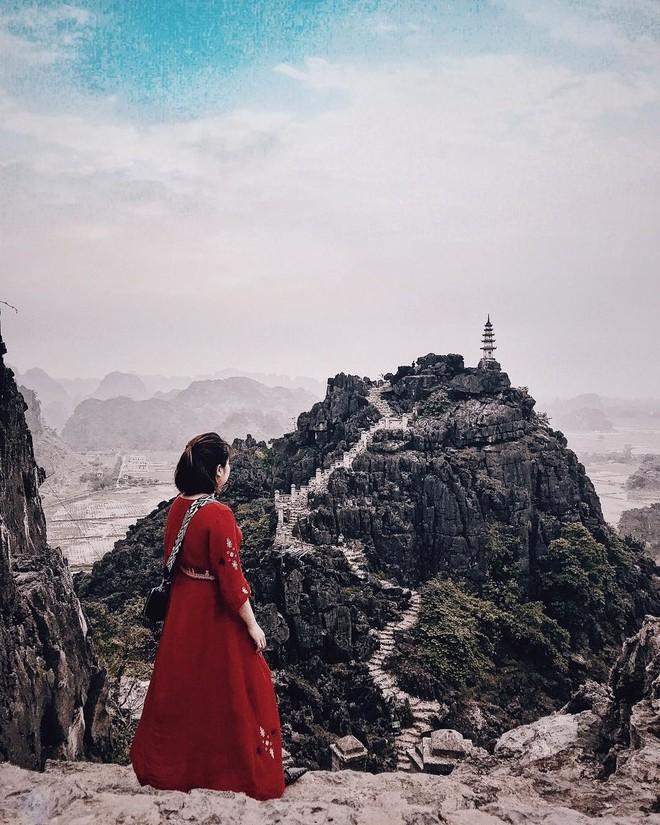 Tọa độ check-in hot nhất ở Ninh Bình: Hùng vĩ và ảo diệu không thua gì cảnh phim cổ trang - ảnh 3