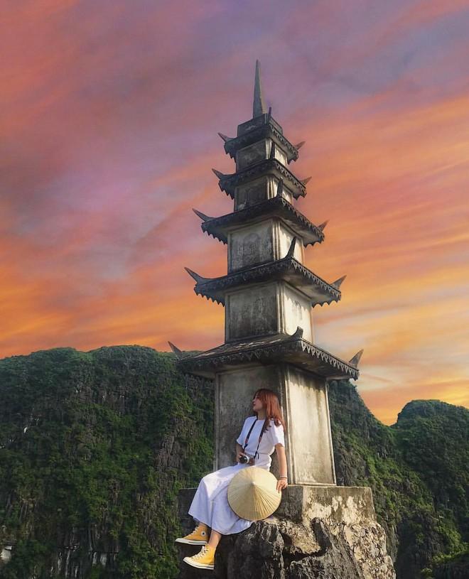 Tọa độ check-in hot nhất ở Ninh Bình: Hùng vĩ và ảo diệu không thua gì cảnh phim cổ trang - ảnh 14