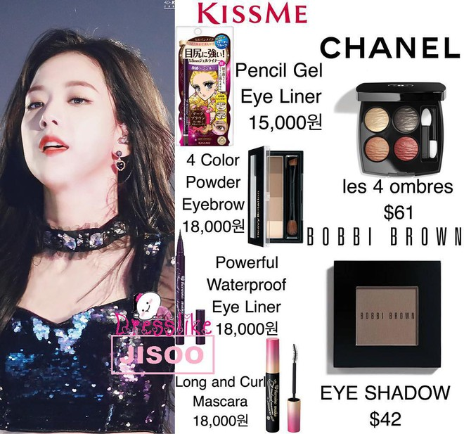 Cô gái nào cũng ước được như Jisoo (Black Pink): vẫn xinh dù hay dùng mỹ phẩm bình dân, có món còn chưa đến 100 ngàn đồng - ảnh 9