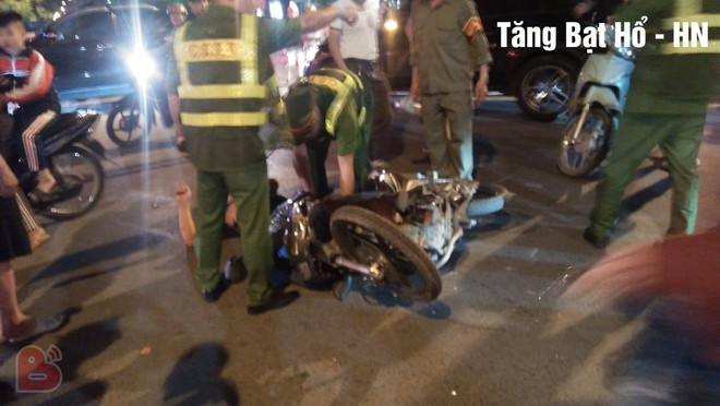 Ẩu đả, tai nạn giao thông liên tiếp trong đêm đi bão mừng chiến thắng của đội tuyển Việt Nam: Vui thôi đừng vui quá! - ảnh 9