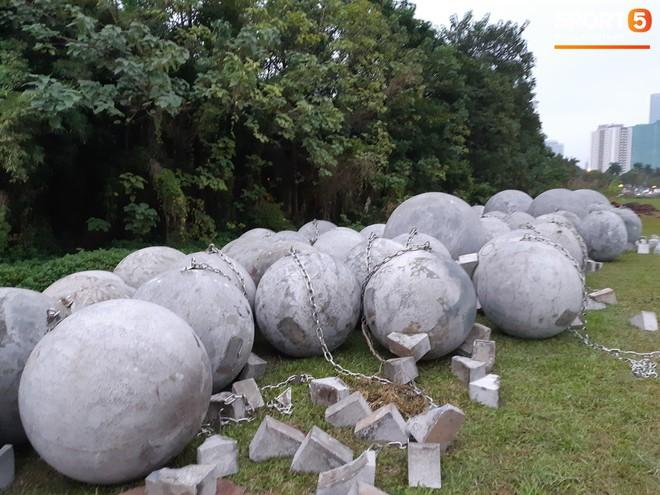 Đã tìm ra vị trí bí ẩn của 40 quả cầu đá sau khi bị di dời khỏi sân Mỹ Đình - ảnh 5