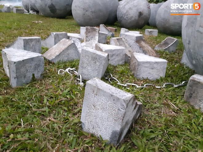 Đã tìm ra vị trí bí ẩn của 40 quả cầu đá sau khi bị di dời khỏi sân Mỹ Đình - ảnh 4