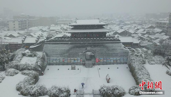 Việt Nam đón giá rét, Trung Quốc cũng gồng mình trước thời tiết lạnh kỷ lục trong lịch sử nước này - Ảnh 4.
