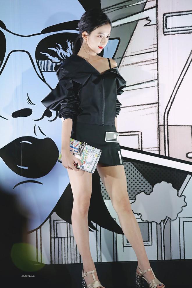 Cách khoe dáng của mỹ nhân Black Pink nhà YG quyền lực: Bó, cộc hết cỡ để không lộ 1% mỡ thừa - Ảnh 14.
