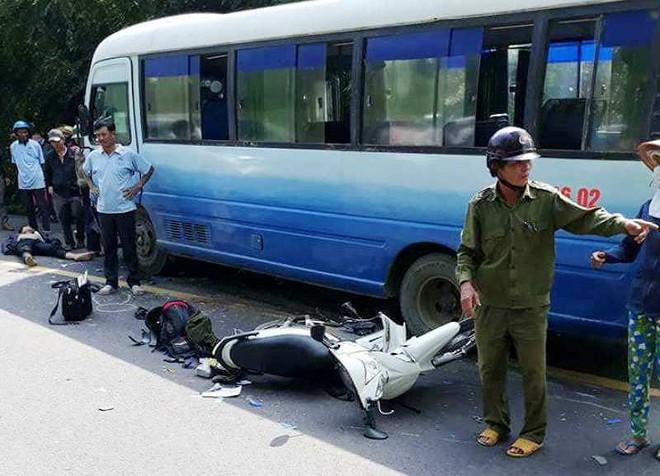 Hai anh em ruột gặp tai nạn trên đường đi xe máy về quê ăn Tết, một người tử vong - Ảnh 1.