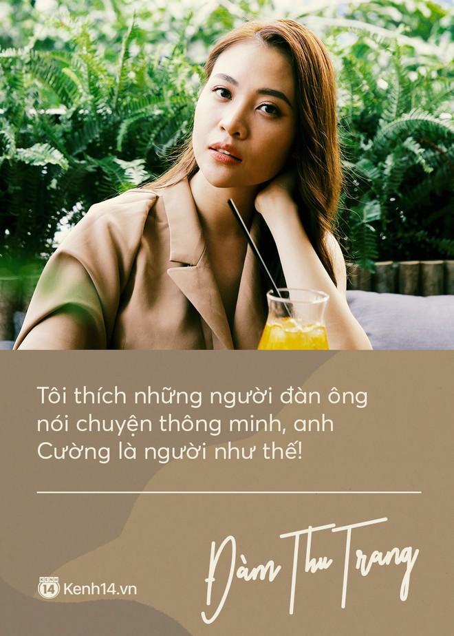 Độc quyền phỏng vấn: Đàm Thu Trang lần đầu kể chuyện tình yêu với Cường Đô La! - ảnh 1