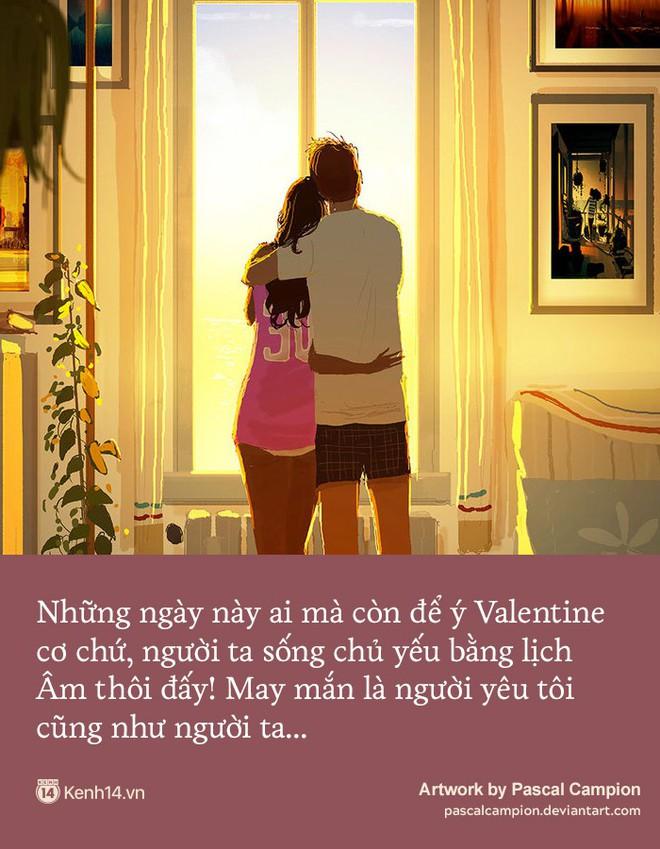 Valentine trùng dịp Tết Nguyên Đán, các cặp đôi yêu nhau nói gì? - Ảnh 2.