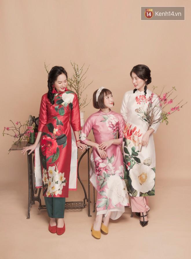 Tết này mặc áo dài: Sun HT, Mẫn Tiên, Lê Vi diện 15 mẫu áo dài cực xinh mà hẳn là bạn cũng đang cần tìm mua chúng - Ảnh 4.