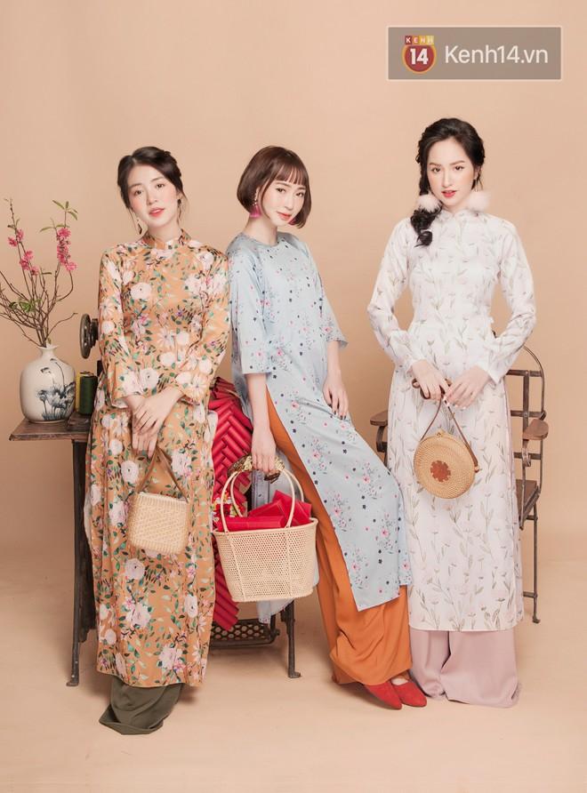 Tết này mặc áo dài: Sun HT, Mẫn Tiên, Lê Vi diện 15 mẫu áo dài cực xinh mà hẳn là bạn cũng đang cần tìm mua chúng - Ảnh 6.