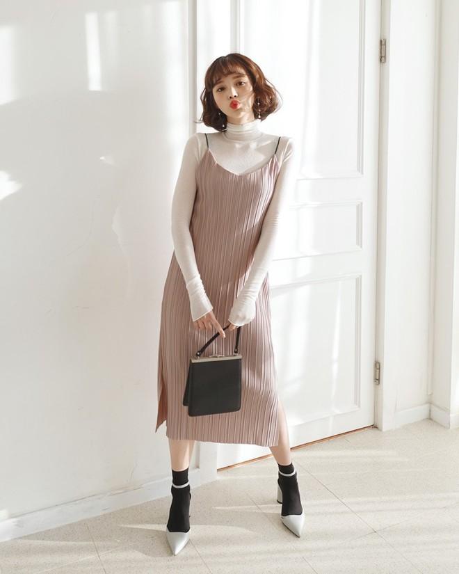 Valentine nhất định phải diện váy: 12 công thức mix đồ xinh không bàn cãi nhưng lại cực dễ áp dụng với các loại váy vóc bánh bèo - ảnh 10