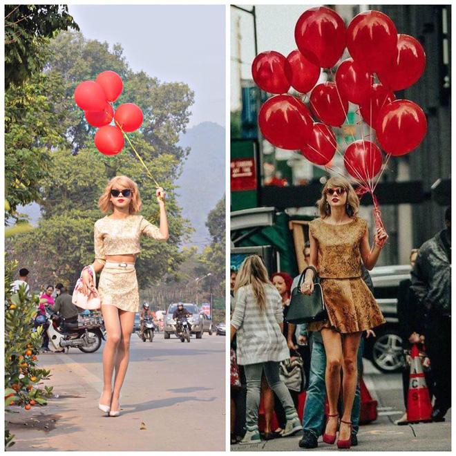 Cậu bạn cosplay Taylor Swift dạo chợ Tết, diễn sâu đến nỗi fangirl bật khóc vì tưởng thật - Ảnh 6.