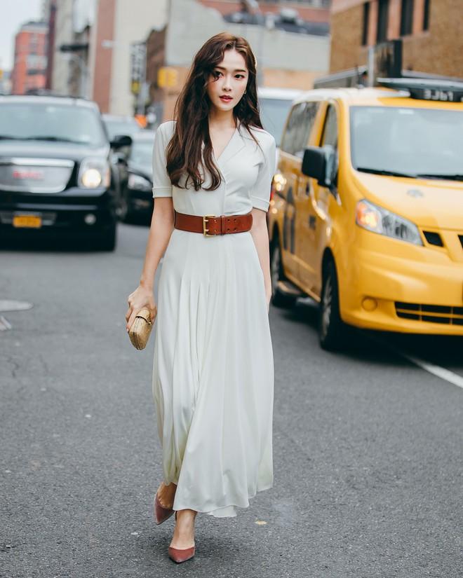 Dự Tuần lễ Thời trang New York, Tiffany mạnh tay diện hẳn áo lông hơn 200 triệu đồng - Ảnh 7.