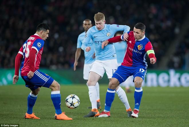 Man City hủy diệt Báel, cầm chắc vé tứ kết Champions League - ảnh 2