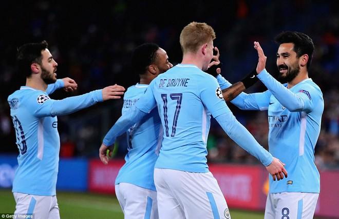Man City hủy diệt Báel, cầm chắc vé tứ kết Champions League - ảnh 4