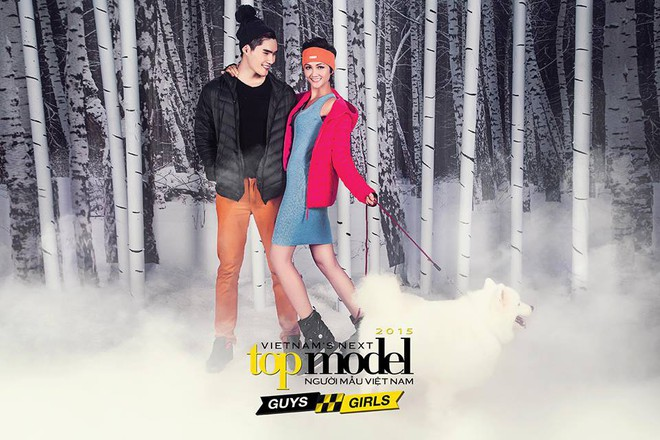Hoa hậu H'Hen Niê từng té lên té xuống khi chụp hình với chó tại Next Top Model - ảnh 5