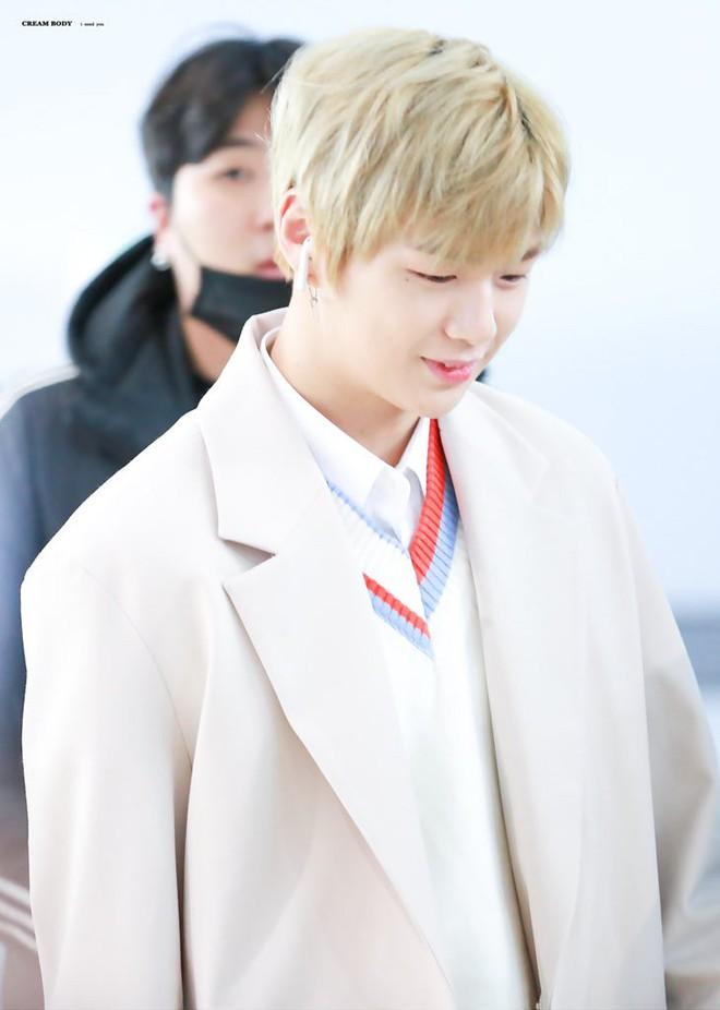 SHINee và Wanna One đụng độ tại sân bay: Center quốc dân có đọ được với độ sang chảnh của Key và Taemin? - Ảnh 7.