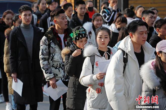 Chiêm ngưỡng nhan sắc dàn nam thanh nữ tú trong kì tuyển sinh của lò đào tạo diễn viên hàng đầu Trung Quốc - Ảnh 19.