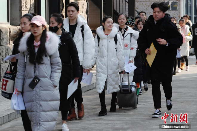 Chiêm ngưỡng nhan sắc dàn nam thanh nữ tú trong kì tuyển sinh của lò đào tạo diễn viên hàng đầu Trung Quốc - Ảnh 20.