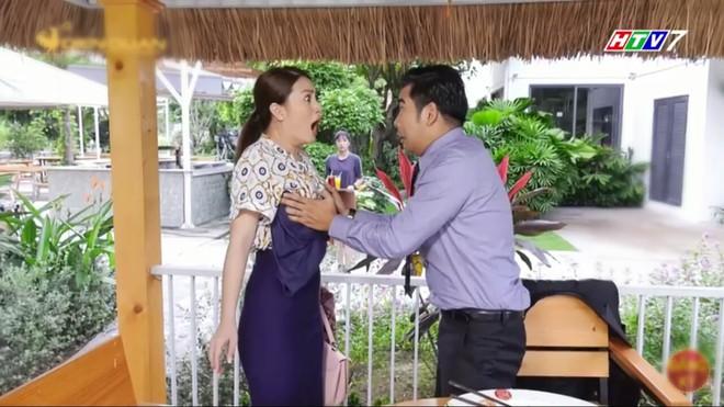 Bố là tất cả: Thanh Bình bị bắt vì sàm sỡ Ngọc Lan, Quang Tuấn tuyên bố từ mặt cha để cưới Sam - Ảnh 3.