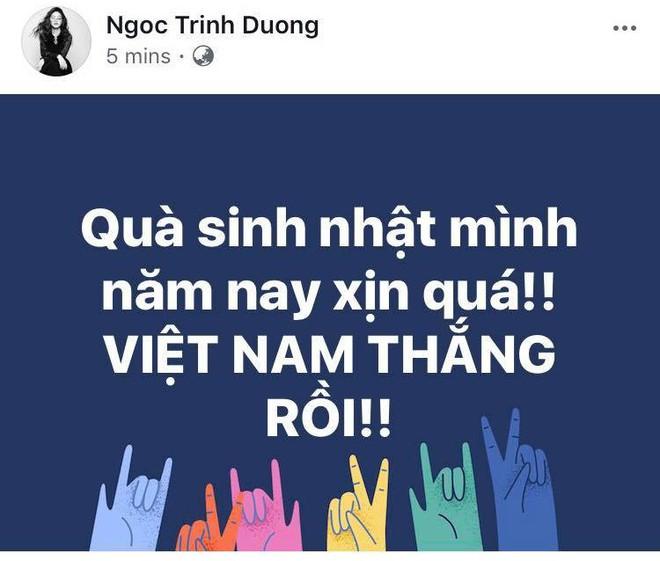 Sao Việt đang vỡ òa trước chiến thắng lịch sử của đội tuyển Việt Nam tại tứ kết U23 châu Á! - Ảnh 4.