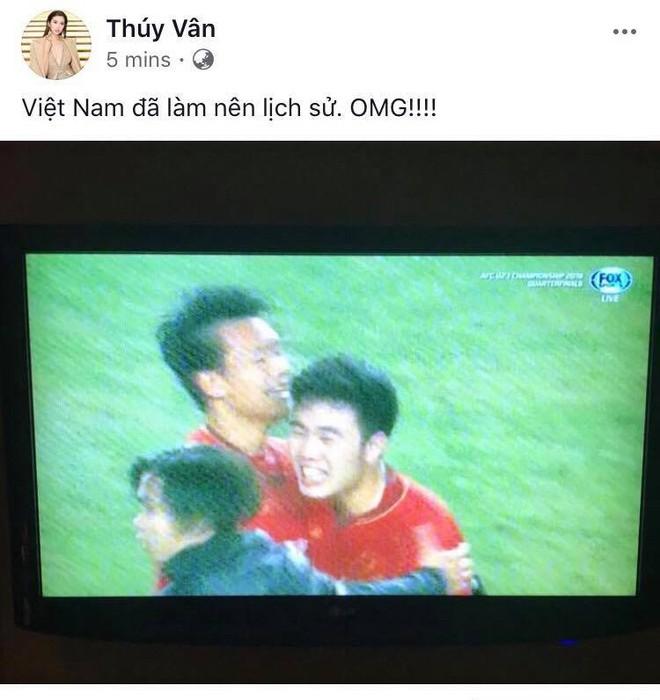 Sao Việt đang vỡ òa trước chiến thắng lịch sử của đội tuyển Việt Nam tại tứ kết U23 châu Á! - Ảnh 9.