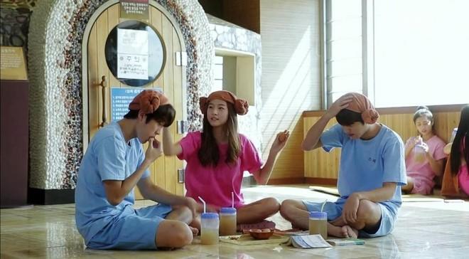 Không ngờ liệu pháp xông hơi thường xuyên xuất hiện trên phim Hàn lại có có cả tá lợi ích sức khỏe thế này - ảnh 1