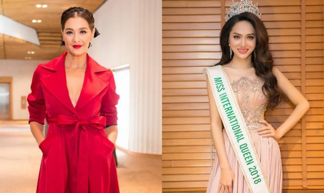 Không chỉ đăng ảnh lên Instagram, chị đại Lukkade còn tặng Hương Giang món quà bất ngờ ngay trên sóng truyền hình Thái Lan - Ảnh 4.