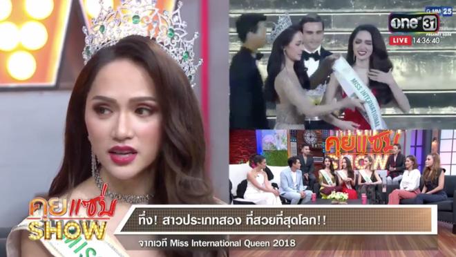 Không chỉ đăng ảnh lên Instagram, chị đại Lukkade còn tặng Hương Giang món quà bất ngờ ngay trên sóng truyền hình Thái Lan - Ảnh 3.