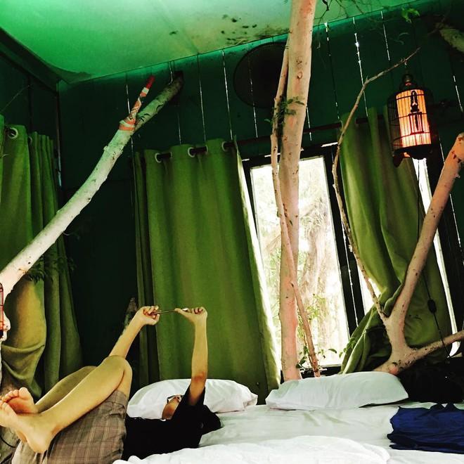 Ngày cuối tuần, trốn cả thế giới để đến với 3 homestay vừa xinh vừa xanh mát ở Hà Nội - ảnh 13
