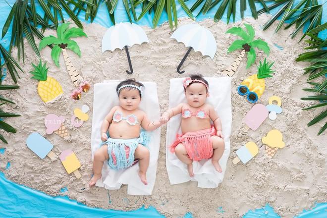Em bé sơ sinh chụp ảnh phong cách 'spa hoàng gia' đã giật giải nhóc tì ngầu nhất MXH hôm nay - ảnh 2