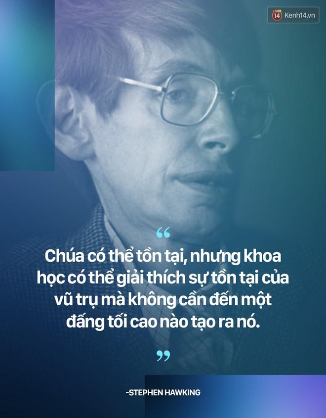 Stephen Hawking và những câu nói thể hiện suy nghĩ của một vị thiên tài - ảnh 6