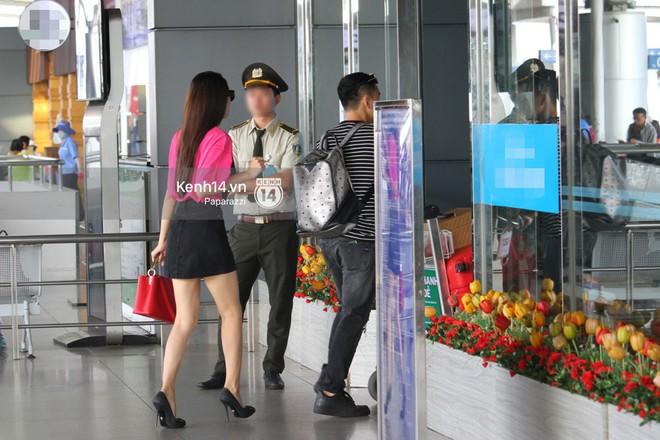 Hương Giang vội vã ở sân bay Tân Sơn Nhất, suýt muộn chuyến bay quay lại Thái Lan vì kẹt xe - Ảnh 6.