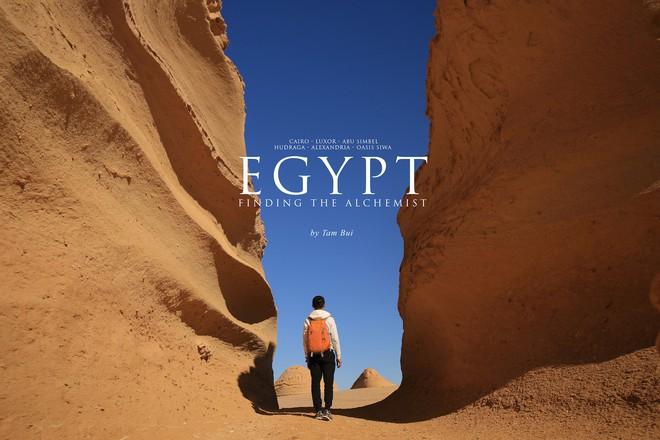 Ai Cập đẹp hơn tất cả những gì chúng ta vẫn tưởng tượng trong bộ ảnh mới nhất của Tâm Bùi - Ảnh 1.
