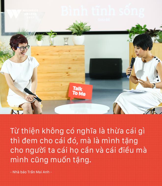 Nhà báo Trần Mai Anh: Tôi và Thiện Nhân phải tiết kiệm nước mắt, nỗi đau. Bởi không ai khổ giùm mình cả - Ảnh 5.