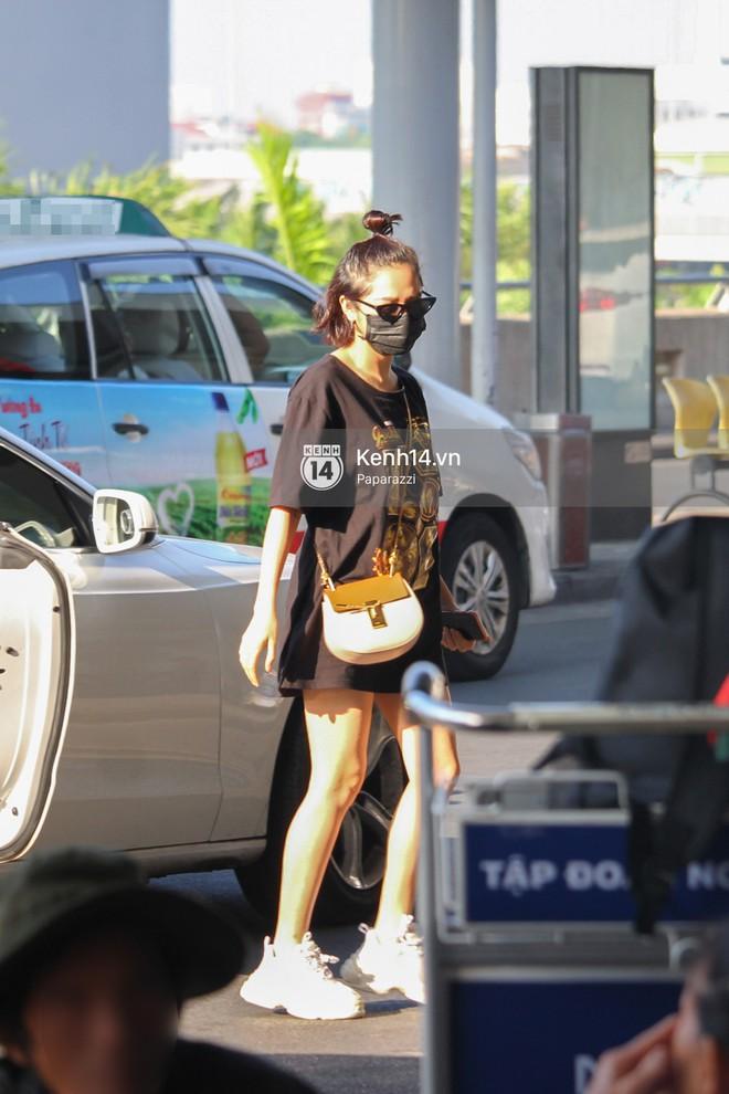 Sau ồn ào lộ giá cát-xê, Bảo Anh diện lại áo cũ lên đường sang Singapore dự ra mắt Avengers: Infinity War - Ảnh 2.