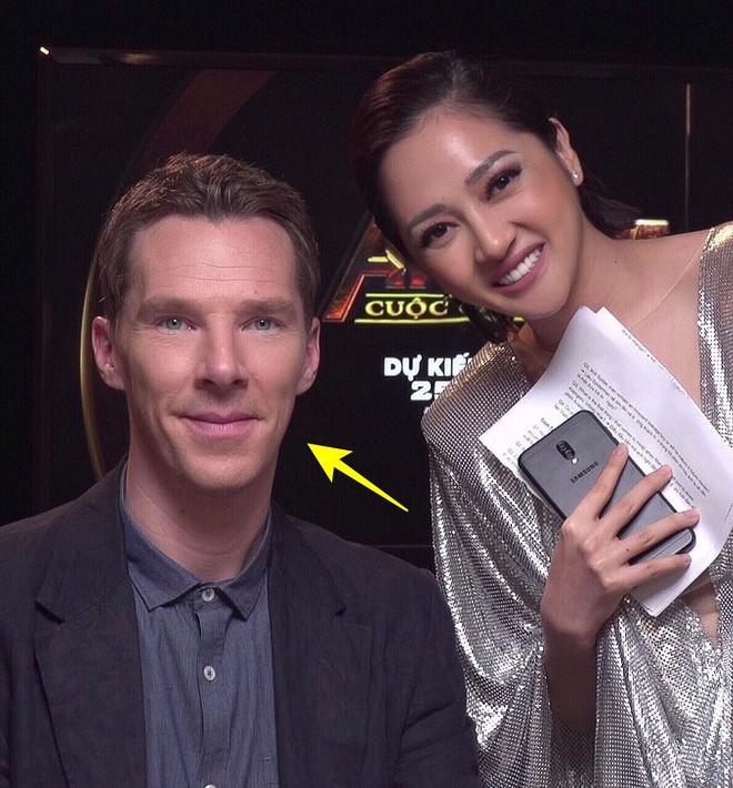 Bảo Anh chụp ảnh với nam diễn viên Dr. Strange Benedict Cumberbatch, nhưng hình như có gì đó sai sai? - Ảnh 3.