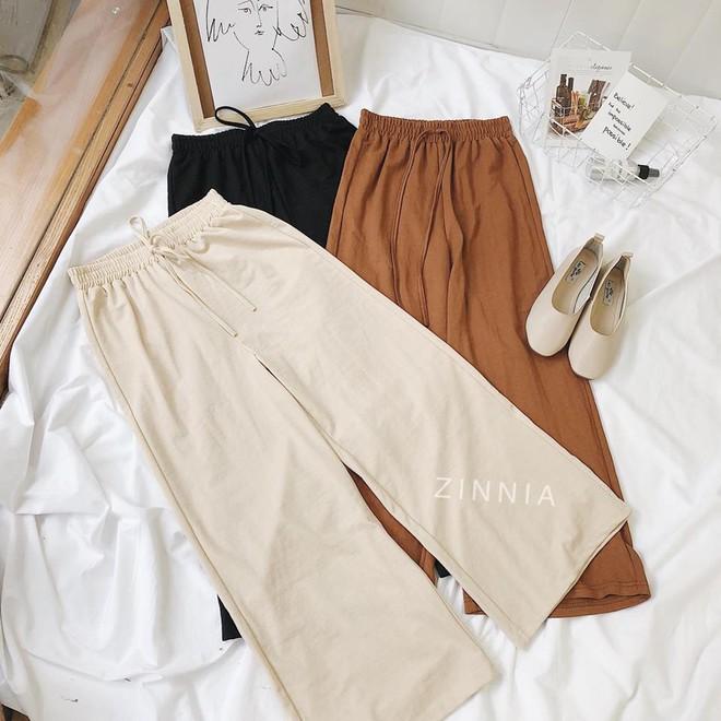 Hè này nếu mua quần culottes, bạn hãy chọn loại cạp chun bản to để sơ vin với áo gì cũng xinh - ảnh 5