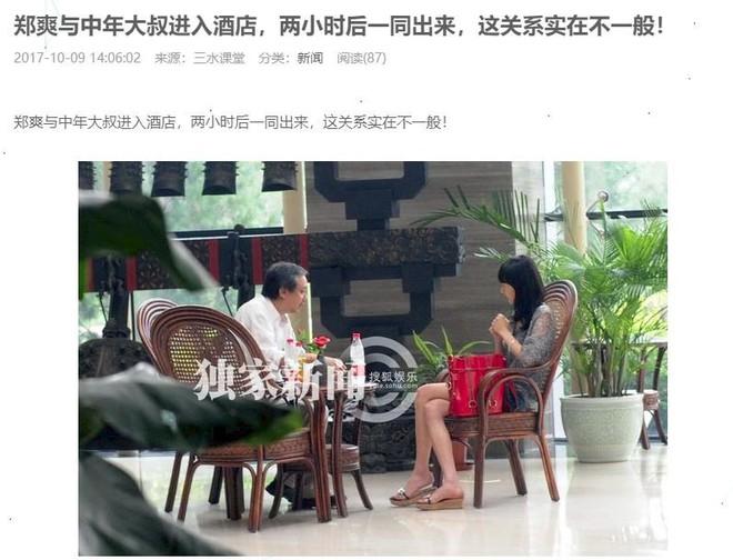Sự thật về loạt ảnh Trịnh Sảng cùng đạo diễn tấn công tình dục cùng nhau vào khách sạn - Ảnh 1.