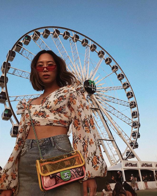 Học style của các bạn trẻ tại Coachella 2018 để lên đồ thật đỉnh cho mùa quẩy sắp tới - ảnh 10
