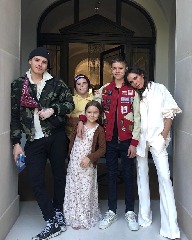 Từ cậu cả đến cô út, các bé con năm nào của nhà Beckham đều đã lớn ngồng rồi! - ảnh 3
